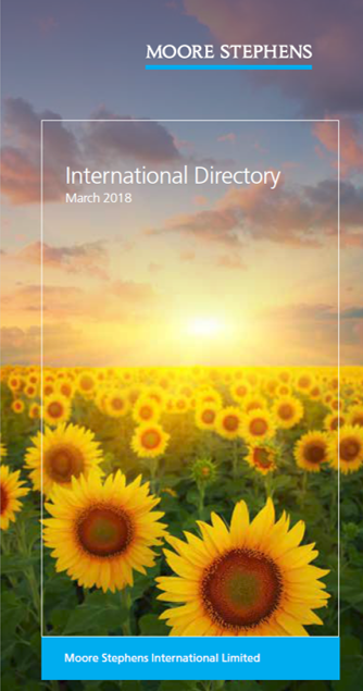 International directory March 2018