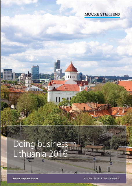 Doing business in Lithuania 2016 Moore Stephens International Limited