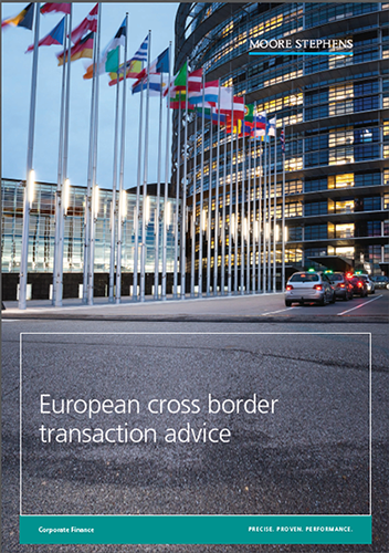 European cross border transaction advice